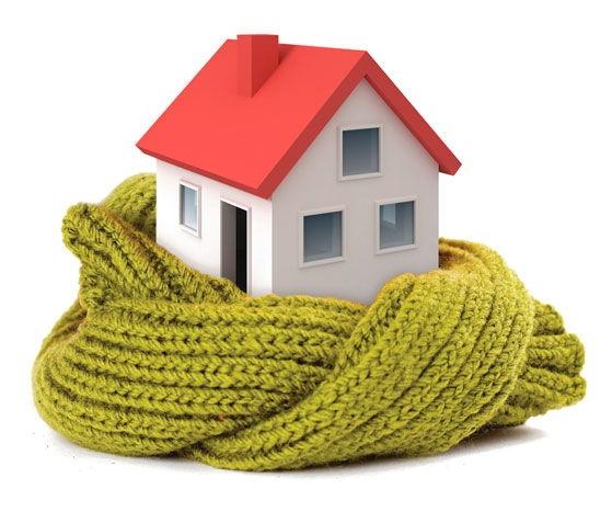 как утеплить дом при помощи ролет