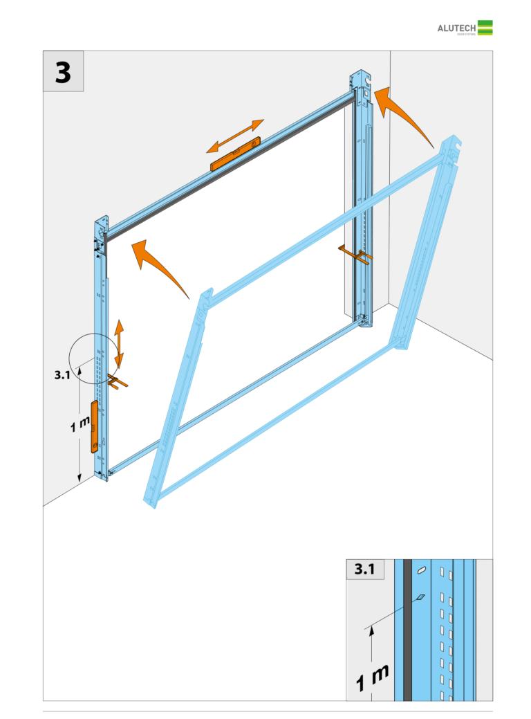 Изготовление секционных ворот своими руками